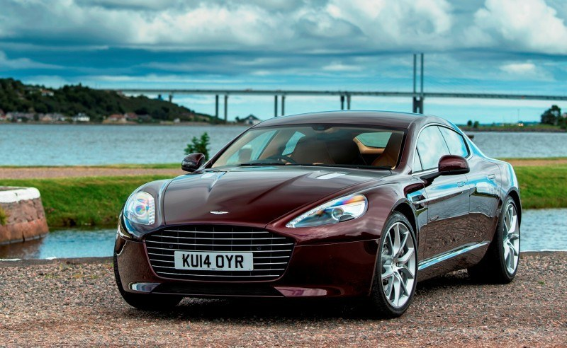 4.2s, 200-MPH 2015 Aston Martin RAPIDE S Also Nabs New Dampers, Torque-Tube and 8-Speed ZF Transaxle 130