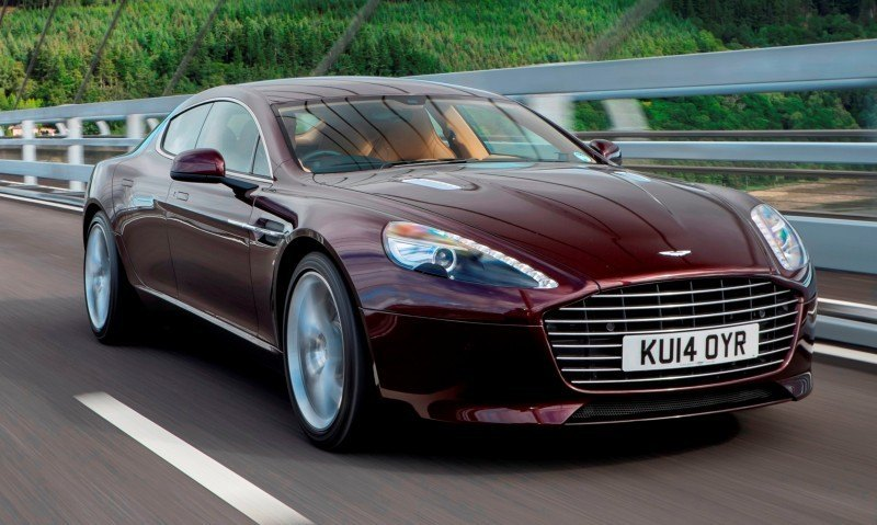 4.2s, 200-MPH 2015 Aston Martin RAPIDE S Also Nabs New Dampers, Torque-Tube and 8-Speed ZF Transaxle 139