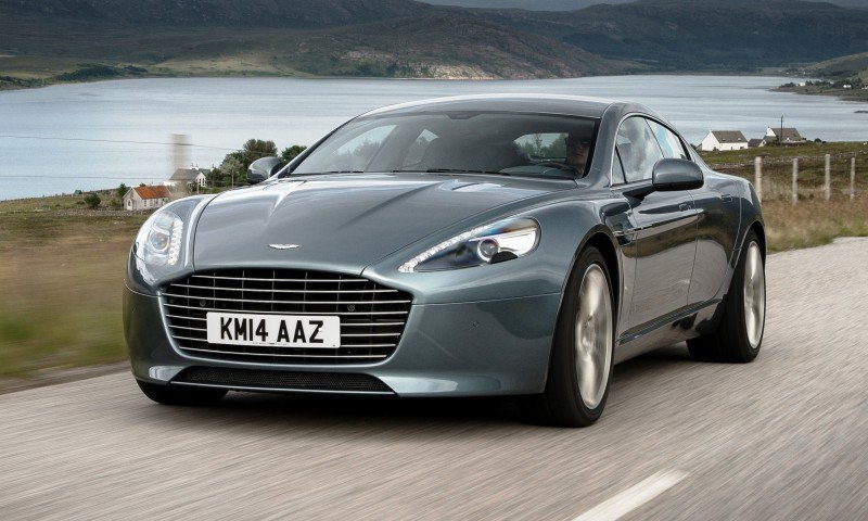 4.2s, 200-MPH 2015 Aston Martin RAPIDE S Also Nabs New Dampers, Torque-Tube and 8-Speed ZF Transaxle 143
