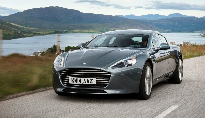 4.2s, 200-MPH 2015 Aston Martin RAPIDE S Also Nabs New Dampers, Torque-Tube and 8-Speed ZF Transaxle 151