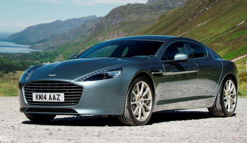 4.2s, 200-MPH 2015 Aston Martin RAPIDE S Also Nabs New Dampers, Torque-Tube and 8-Speed ZF Transaxle 152