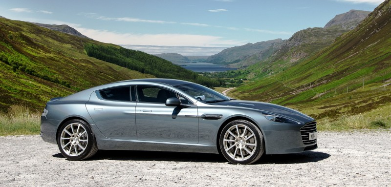 4.2s, 200-MPH 2015 Aston Martin RAPIDE S Also Nabs New Dampers, Torque-Tube and 8-Speed ZF Transaxle 153