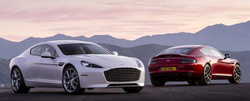 4.2s, 200-MPH 2015 Aston Martin RAPIDE S Also Nabs New Dampers, Torque-Tube and 8-Speed ZF Transaxle 165
