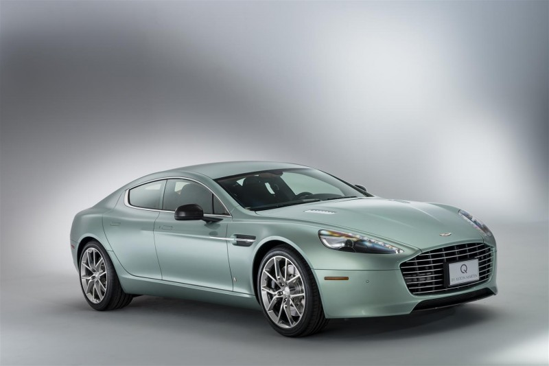 4.2s, 200-MPH 2015 Aston Martin RAPIDE S Also Nabs New Dampers, Torque-Tube and 8-Speed ZF Transaxle 2