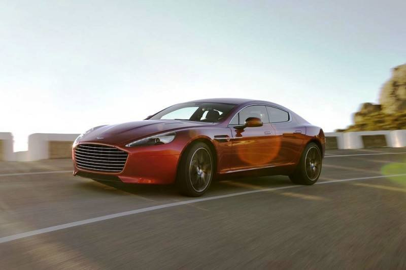 4.2s, 200-MPH 2015 Aston Martin RAPIDE S Also Nabs New Dampers, Torque-Tube and 8-Speed ZF Transaxle 204