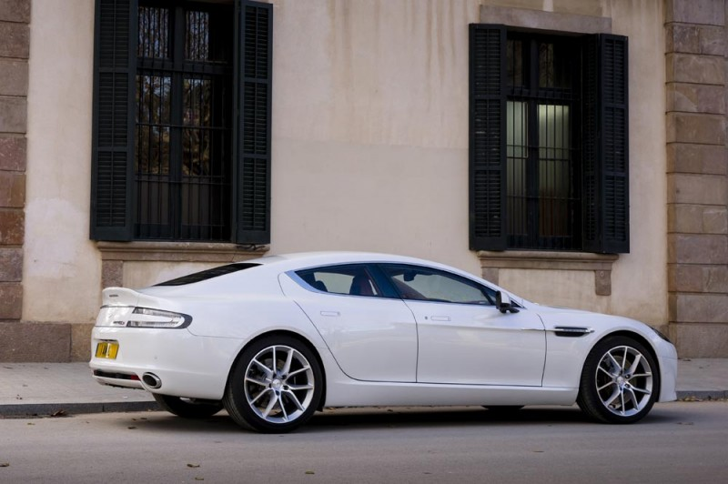 4.2s, 200-MPH 2015 Aston Martin RAPIDE S Also Nabs New Dampers, Torque-Tube and 8-Speed ZF Transaxle 240