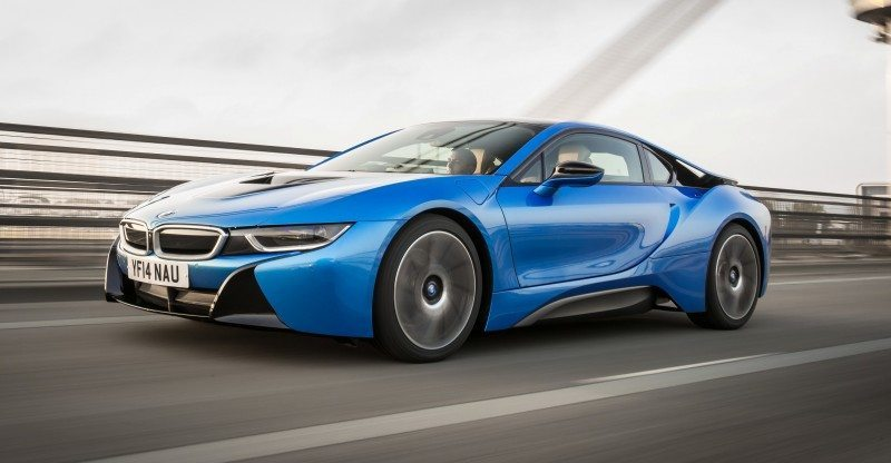 4.4s 2015 BMW i8 Glams Up London and English Countryside for of UK Sales Launch 1