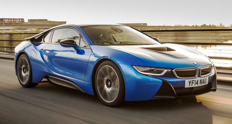 4.4s 2015 BMW i8 Glams Up London and English Countryside for of UK Sales Launch 12