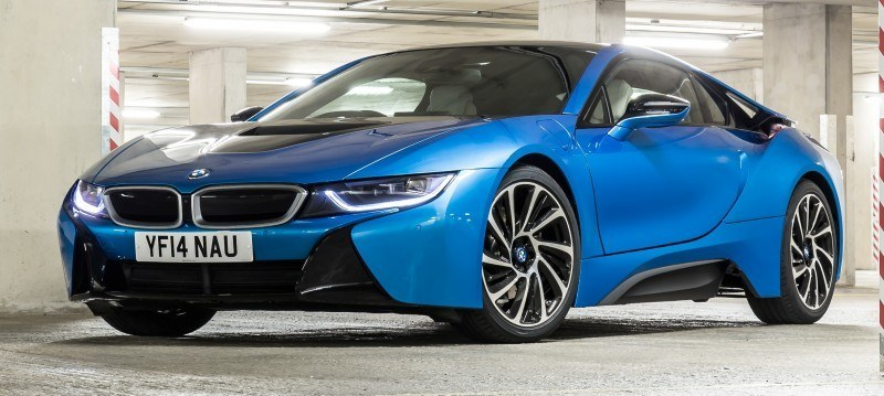 4.4s 2015 BMW i8 Glams Up London and English Countryside for of UK Sales Launch 15