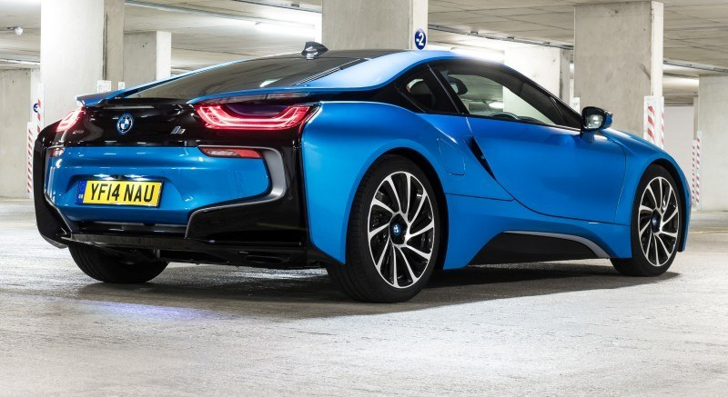 4.4s 2015 BMW i8 Glams Up London and English Countryside for of UK Sales Launch 16