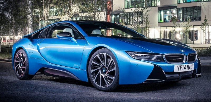 4.4s 2015 BMW i8 Glams Up London and English Countryside for of UK Sales Launch 18