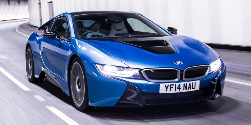 4.4s 2015 BMW i8 Glams Up London and English Countryside for of UK Sales Launch 19