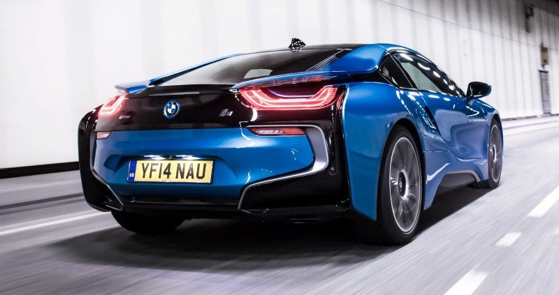 4.4s 2015 BMW i8 Glams Up London and English Countryside for of UK Sales Launch 20
