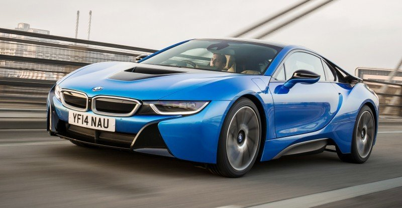 4.4s 2015 BMW i8 Glams Up London and English Countryside for of UK Sales Launch 21