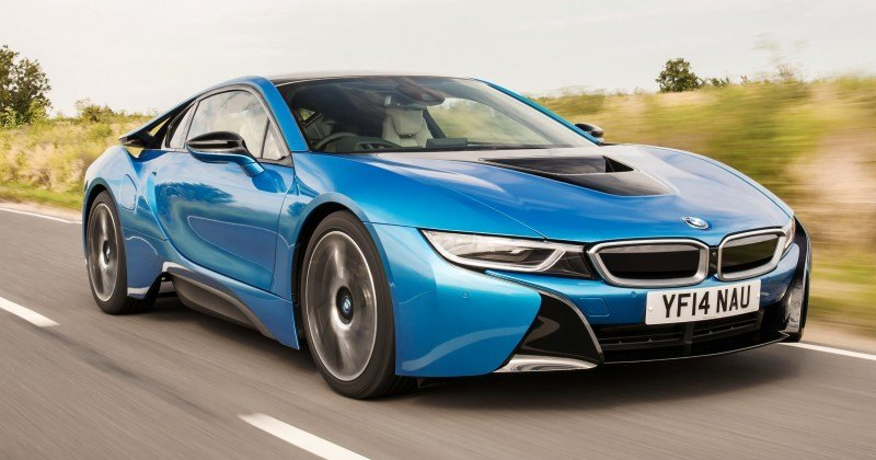 4.4s 2015 BMW i8 Glams Up London and English Countryside for of UK Sales Launch 24
