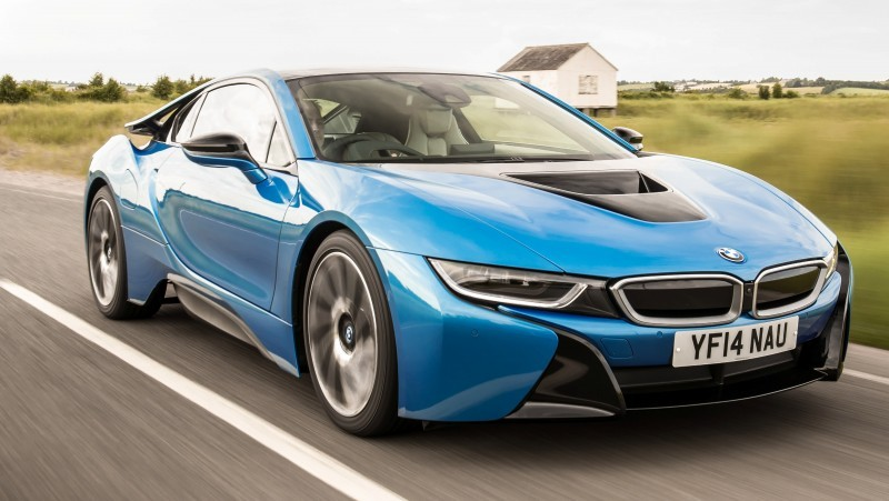 4.4s 2015 BMW i8 Glams Up London and English Countryside for of UK Sales Launch 26