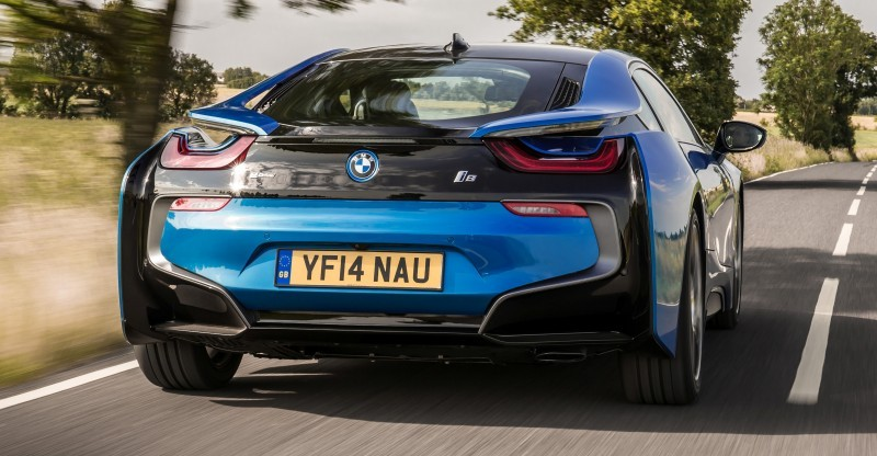 4.4s 2015 BMW i8 Glams Up London and English Countryside for of UK Sales Launch 27