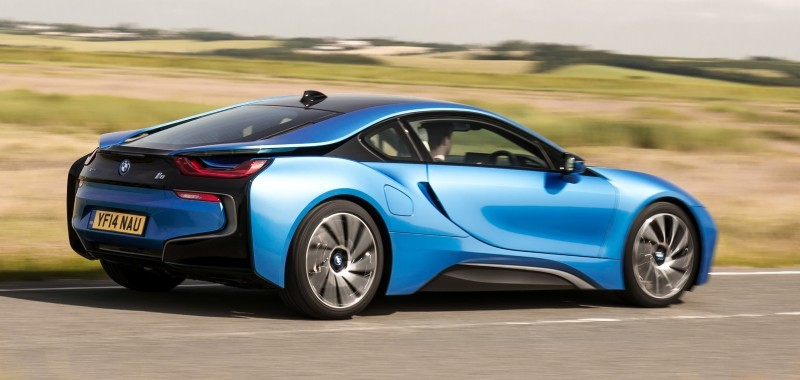 4.4s 2015 BMW i8 Glams Up London and English Countryside for of UK Sales Launch 29