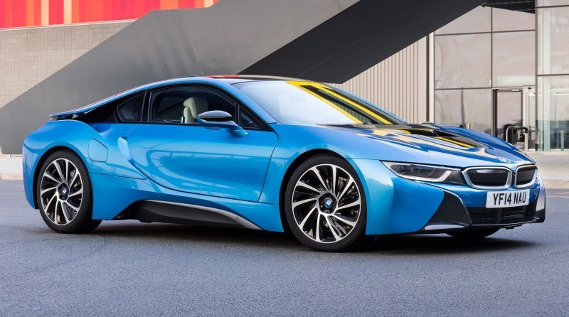 4.4s 2015 BMW i8 Glams Up London and English Countryside for of UK Sales Launch 3