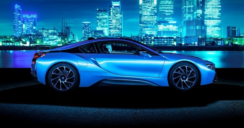 4.4s 2015 BMW i8 Glams Up London and English Countryside for of UK Sales Launch 4