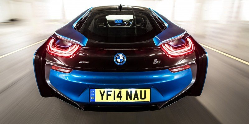 4.4s 2015 BMW i8 Glams Up London and English Countryside for of UK Sales Launch 6