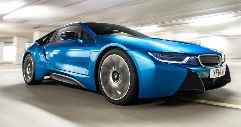 4.4s 2015 BMW i8 Glams Up London and English Countryside for of UK Sales Launch 7