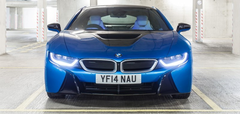 4.4s 2015 BMW i8 Glams Up London and English Countryside for of UK Sales Launch 8