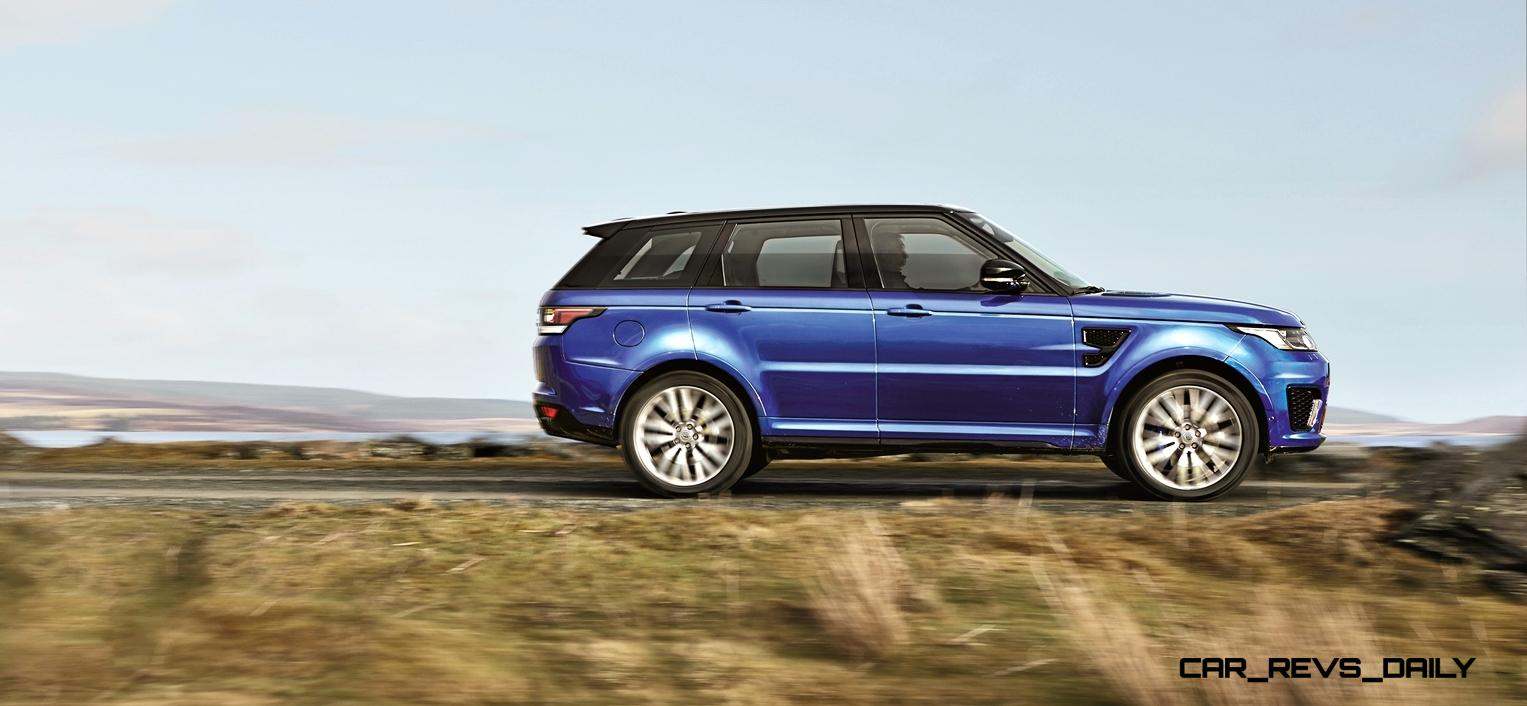 162mph 2015 range rover sport svr is officially. Black Bedroom Furniture Sets. Home Design Ideas