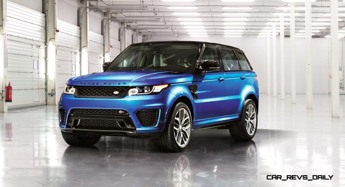 Update1 2015 Range Rover Sport SVR Makes USA Debut at