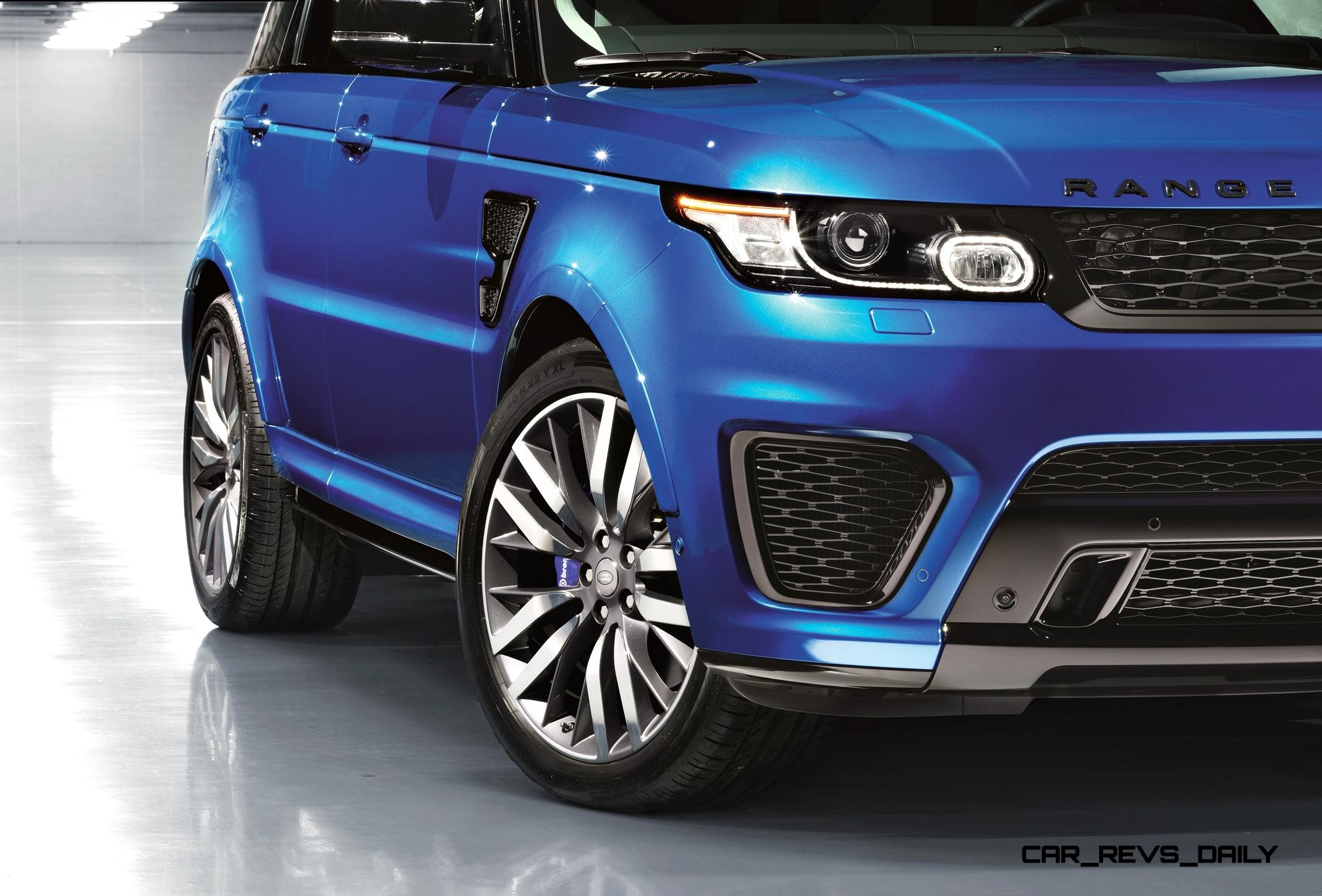162mph 2015 range rover sport svr is officially quickest fastest and raciest rrs ever. Black Bedroom Furniture Sets. Home Design Ideas