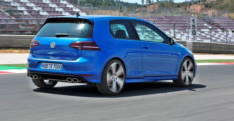4.9s VW Golf R Officially Coming to USA in January 2015 With At Least 290HP 6