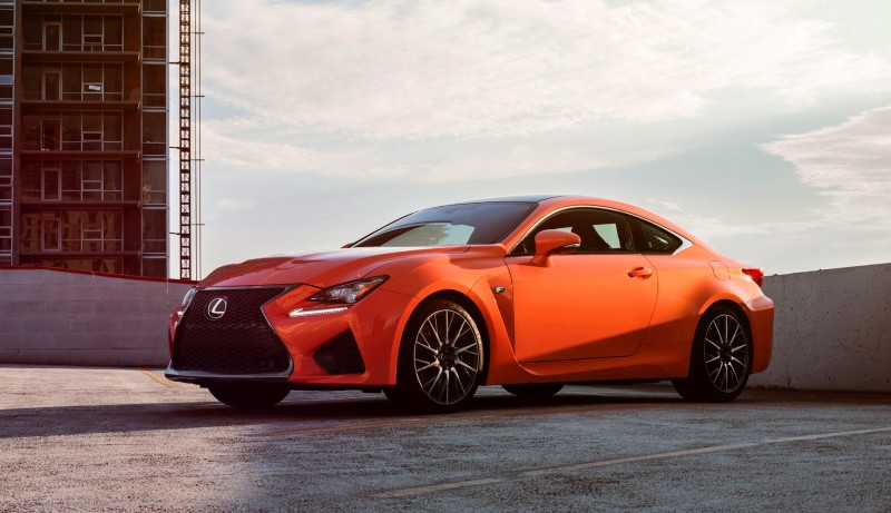467HP 2015 Lexus RC F Visits Monticello in Three New Colors + Tech Features 1