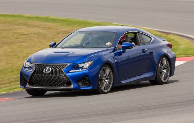 467HP 2015 Lexus RC F Visits Monticello in Three New Colors + Tech Features 10