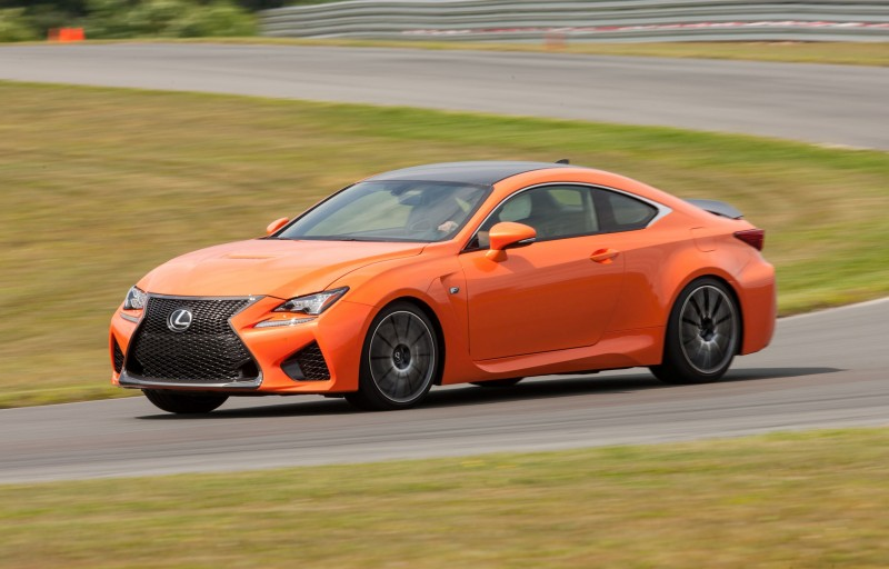467HP 2015 Lexus RC F Visits Monticello in Three New Colors + Tech Features 11