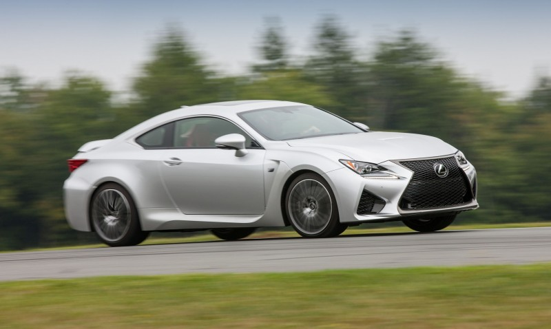 467HP 2015 Lexus RC F Visits Monticello in Three New Colors + Tech Features 12