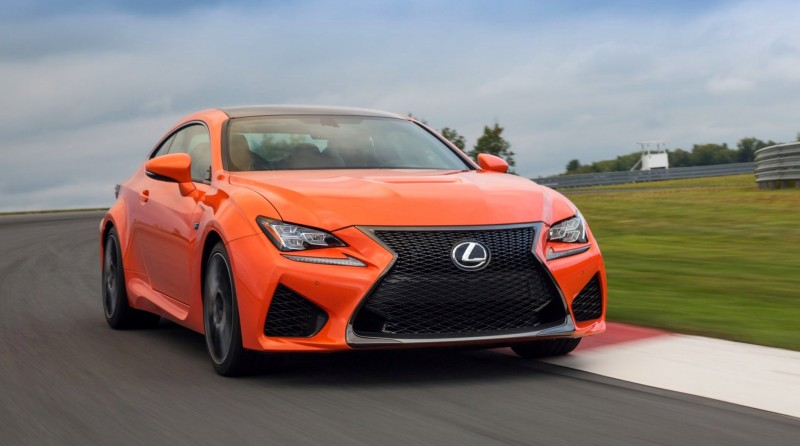 467HP 2015 Lexus RC F Visits Monticello in Three New Colors + Tech Features 13