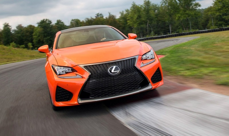 467HP 2015 Lexus RC F Visits Monticello in Three New Colors + Tech Features 14