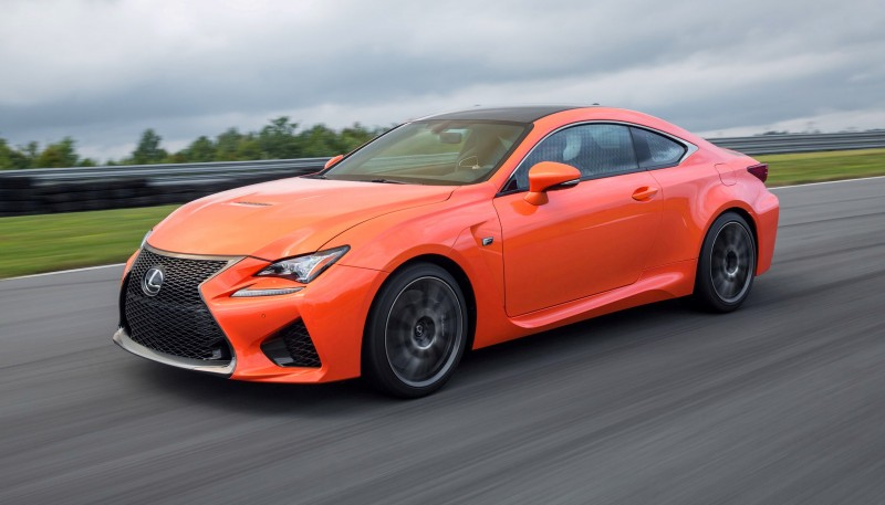 467HP 2015 Lexus RC F Visits Monticello in Three New Colors + Tech Features 15