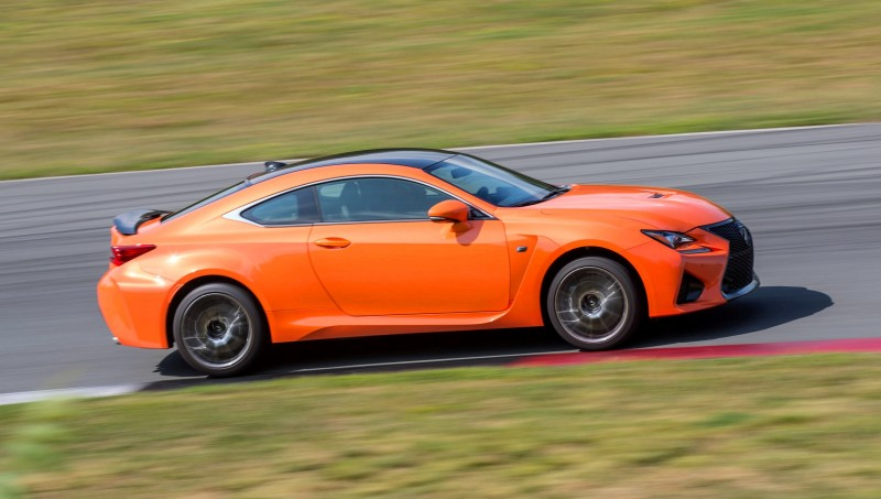 467HP 2015 Lexus RC F Visits Monticello in Three New Colors + Tech Features 16