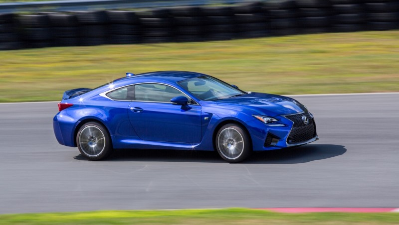 467HP 2015 Lexus RC F Visits Monticello in Three New Colors + Tech Features 17