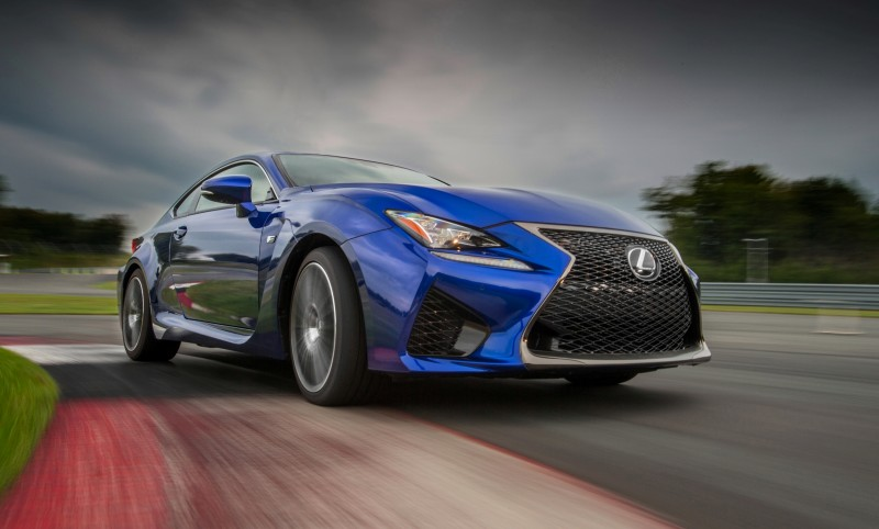 467HP 2015 Lexus RC F Visits Monticello in Three New Colors + Tech Features 18