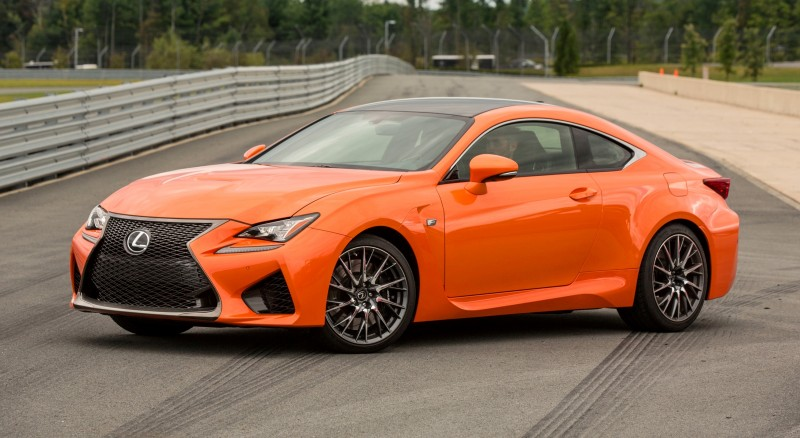 467HP 2015 Lexus RC F Visits Monticello in Three New Colors + Tech Features 19