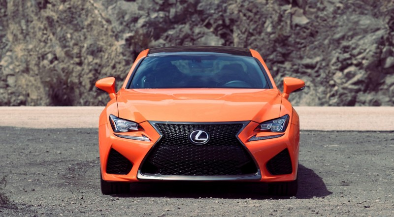 467HP 2015 Lexus RC F Visits Monticello in Three New Colors + Tech Features 2