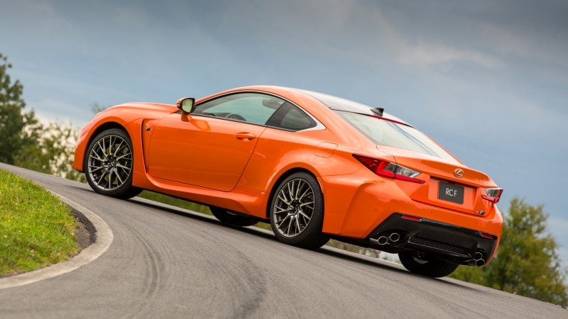 467HP 2015 Lexus RC F Visits Monticello in Three New Colors + Tech Features 20