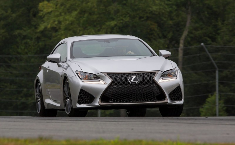 467HP 2015 Lexus RC F Visits Monticello in Three New Colors + Tech Features 21