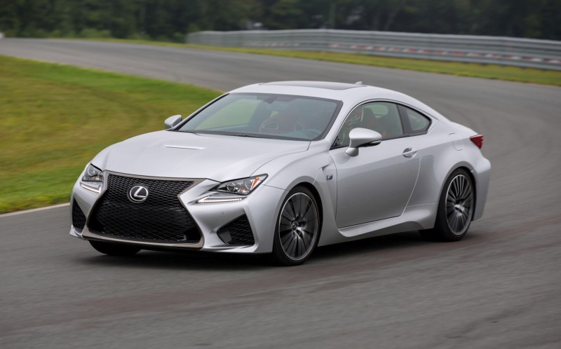 467HP 2015 Lexus RC F Visits Monticello in Three New Colors + Tech Features 23