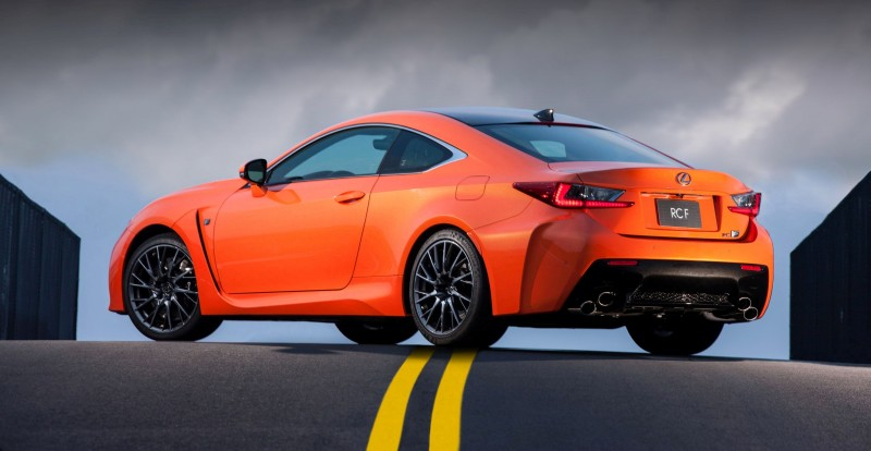 467HP 2015 Lexus RC F Visits Monticello in Three New Colors + Tech Features 24