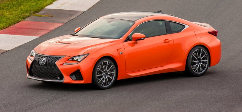 467HP 2015 Lexus RC F Visits Monticello in Three New Colors + Tech Features 25