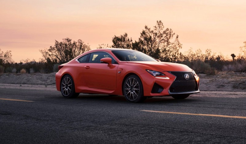 467HP 2015 Lexus RC F Visits Monticello in Three New Colors + Tech Features 3