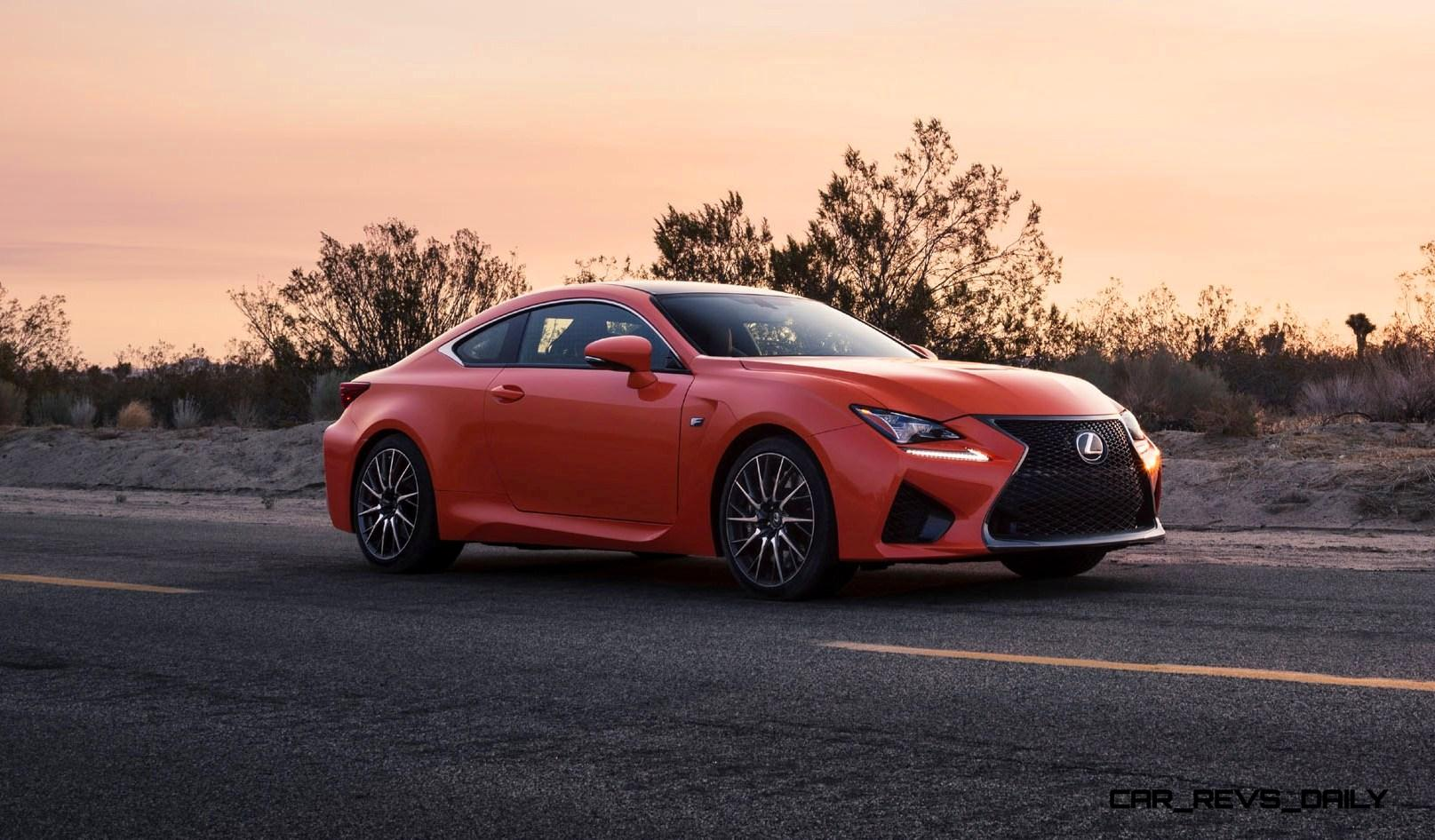 467hp 2015 lexus rc f visits monticello in three new colors tech features. Black Bedroom Furniture Sets. Home Design Ideas